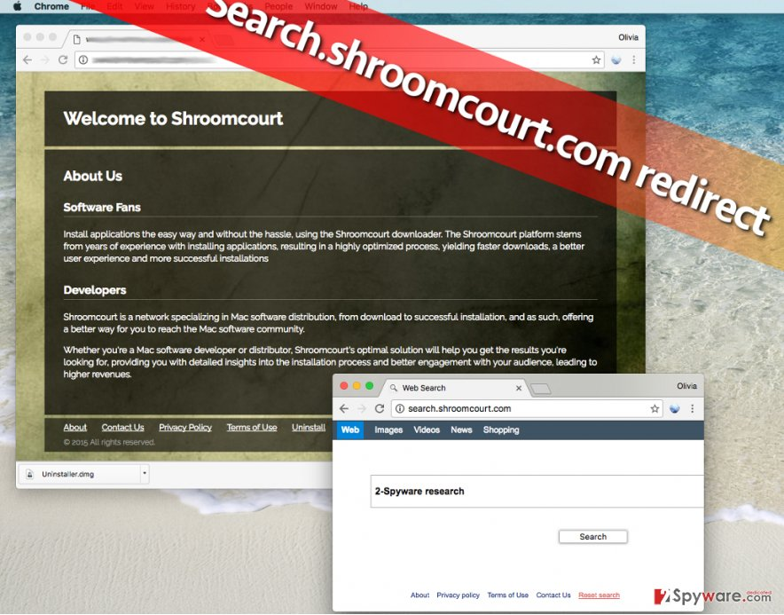 how to remove yahoo search from chrome mac