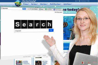 Image of the Search.suchwowgames.com virus