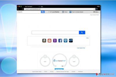 Search.superspeedtester.com virus