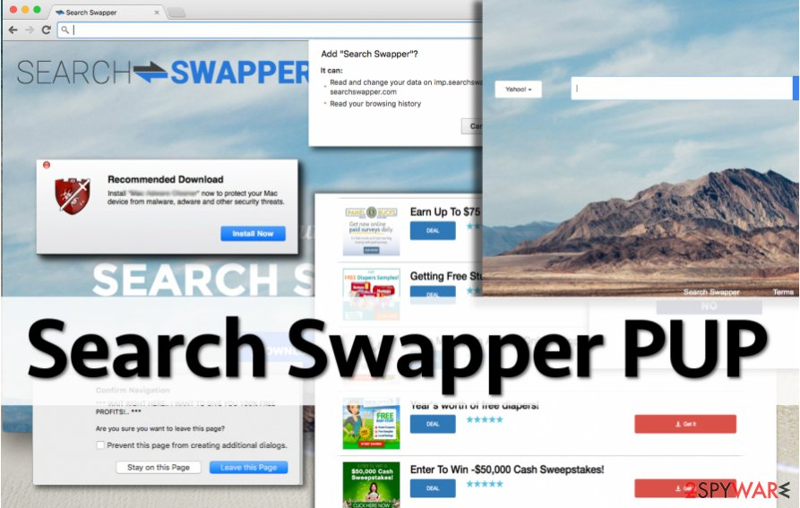 Search Swapper redirects can be annoying and dangerous