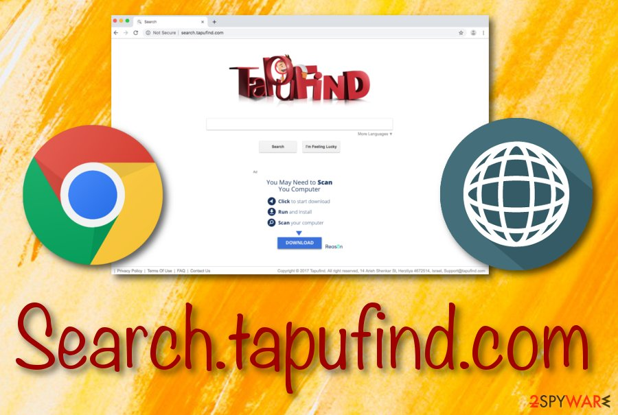 Tapufind browser hijacker