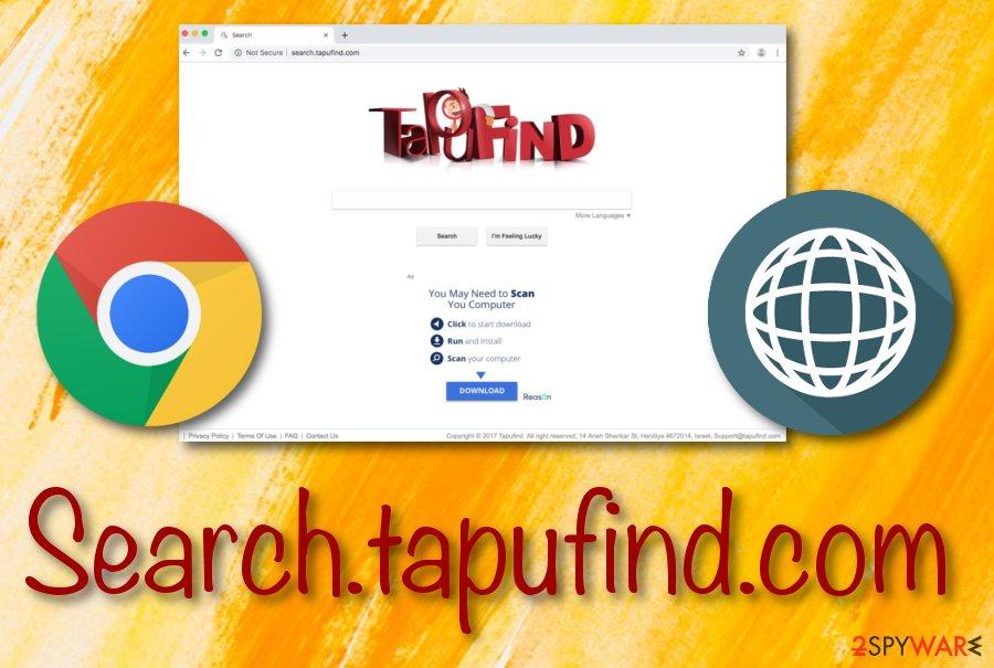 Tapufind browser hijacker