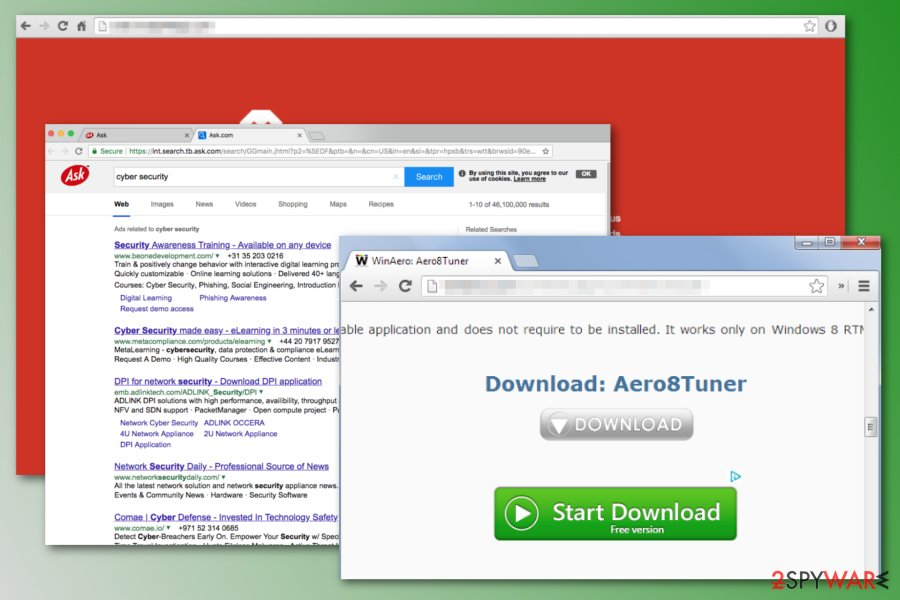 Search.tb.ask.com redirect virus
