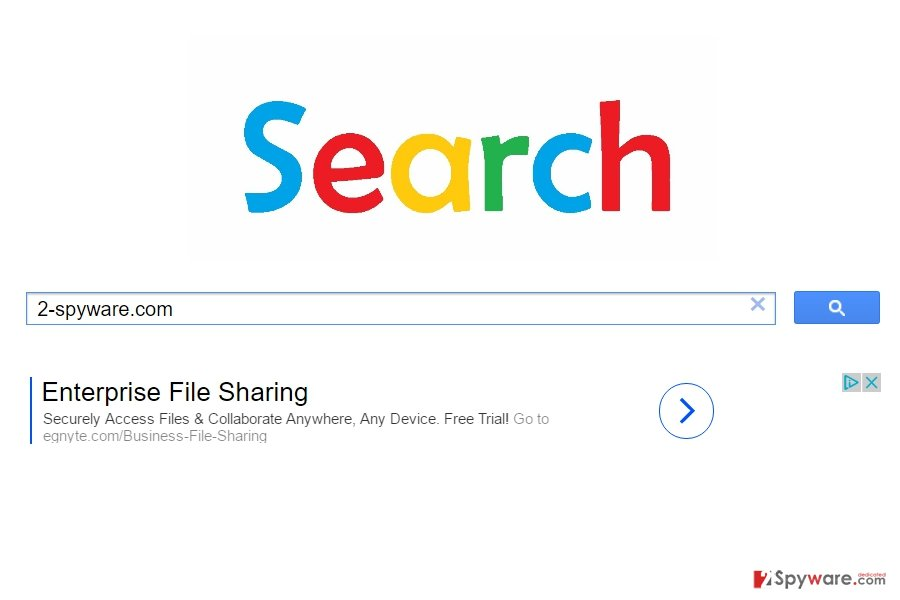 The screenshort of Searchtopresults.com