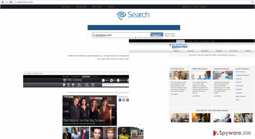 The picture revealing search.twcc.com