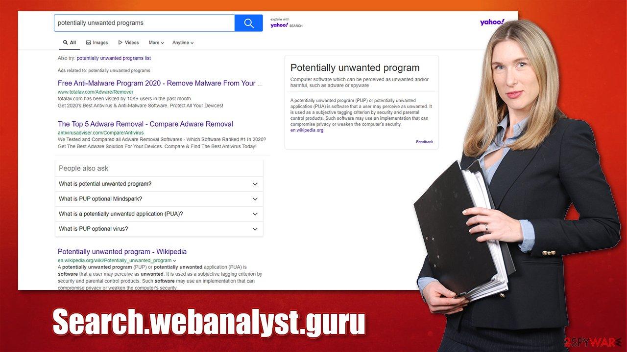 Search.webanalyst.guru redirect