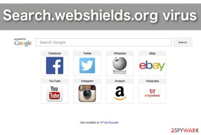 Image of the Search.webshields.org virus
