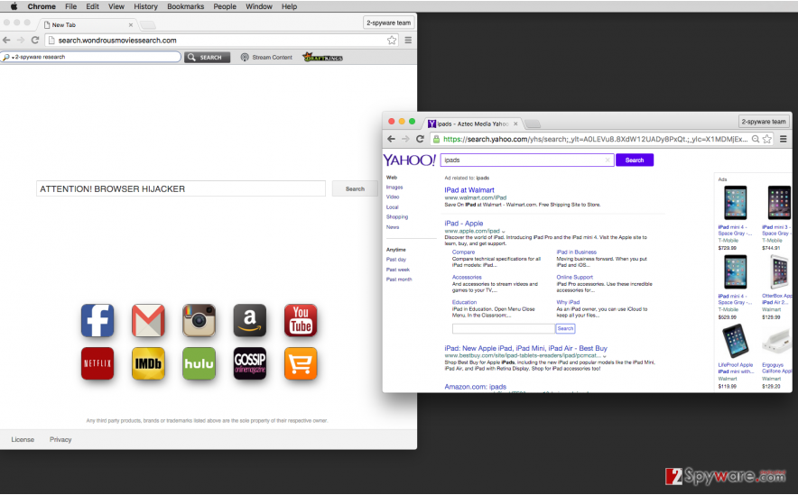 Search.wondrousmoviessearch.com hijack