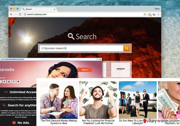Search.ydserp.com by Web Bar Media