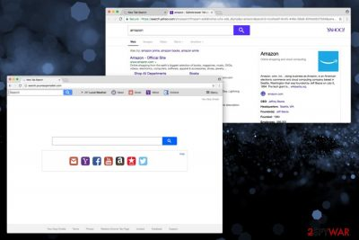 Search.youreasyemailsh.com hijacker