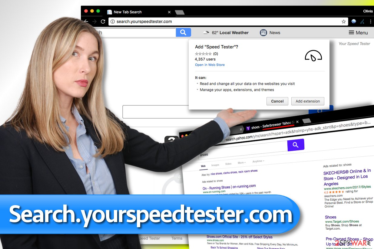 Search.yourspeedtester.com search engine