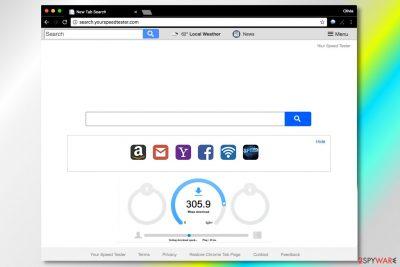 Search.yourspeedtester.com virus
