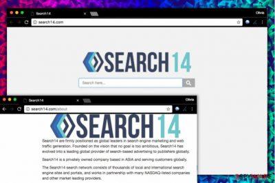 Search14.com virus