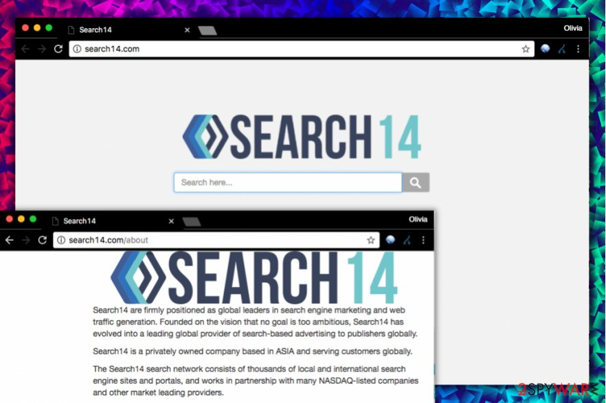 Search14.com virus