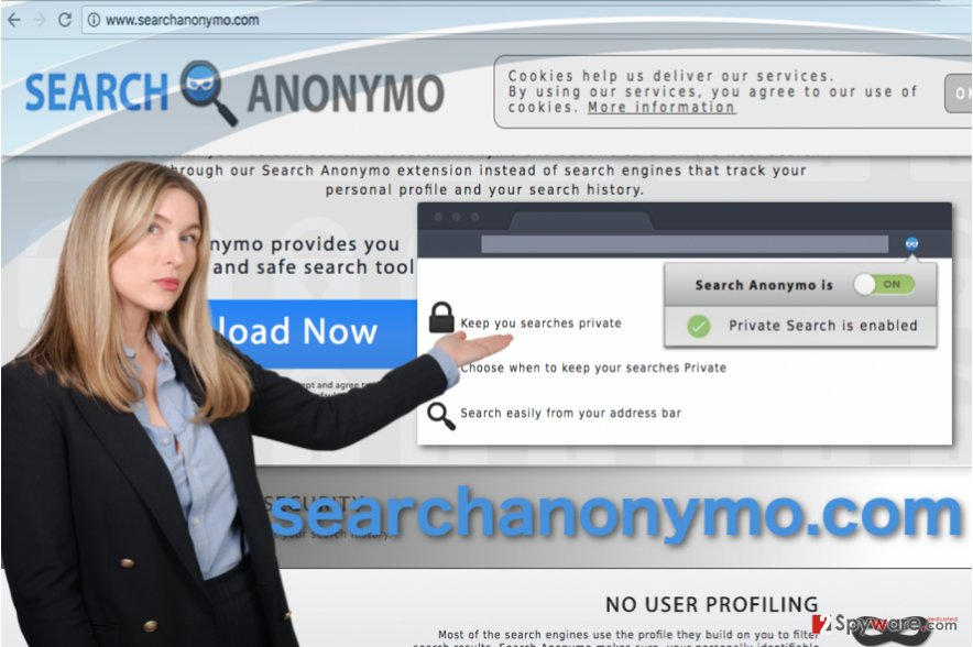 Image of the Searchanonymo.com virus