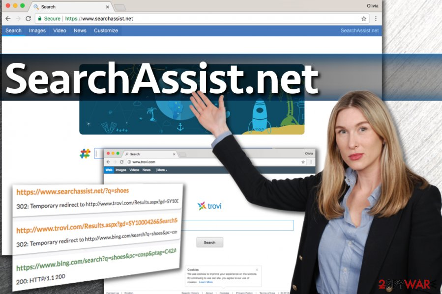 SearchAssist.net virus