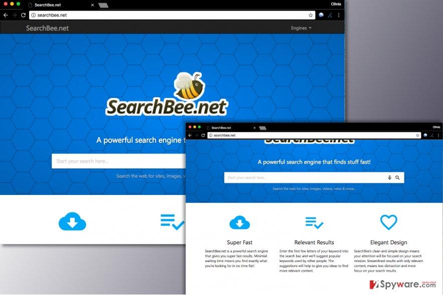 Searchbee.net virus