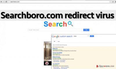 Searchboro.com hijack