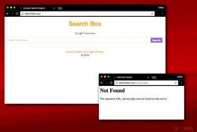Searchbox.xyz redirect