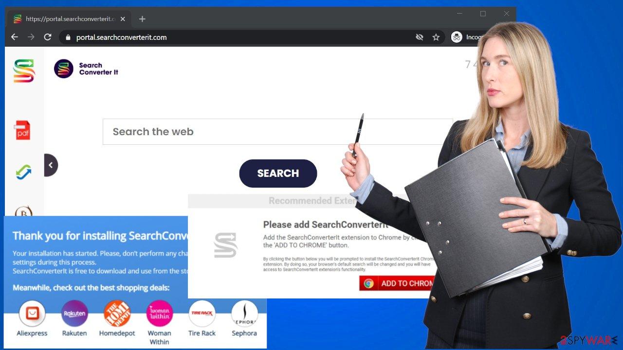 SearchConverterIt virus