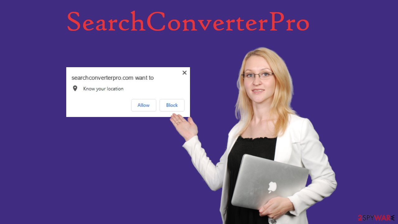 SearchConverterPro browser hijacker