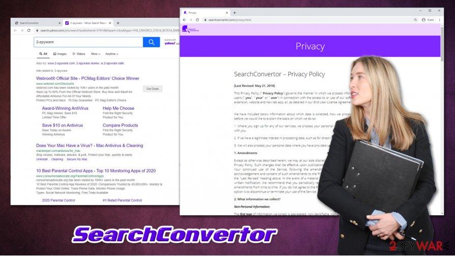 SearchConvertor hijacker