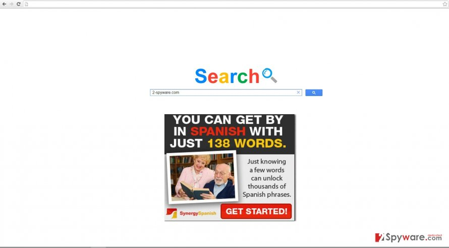 The image revealing Searchemyn.com virus