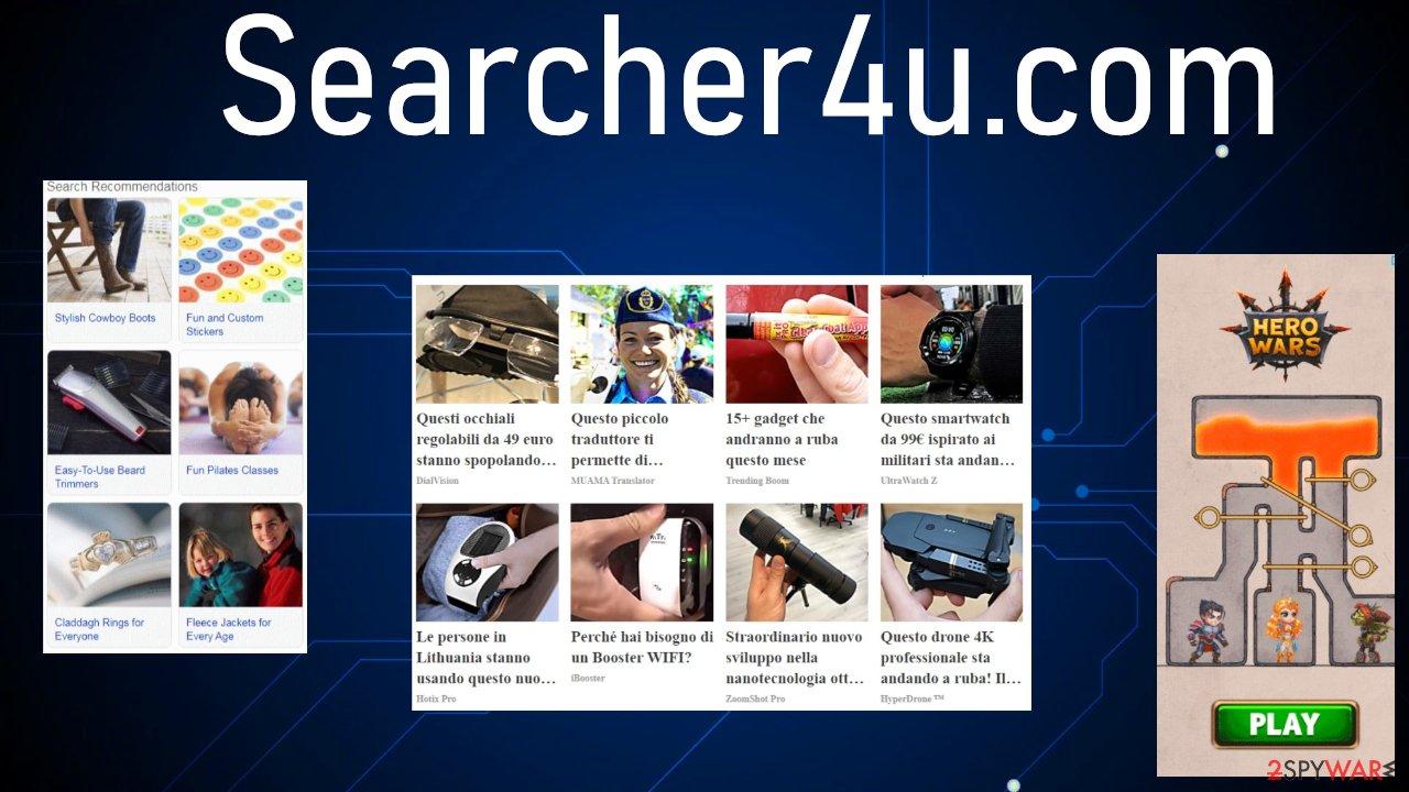 Searcher4u.com ads