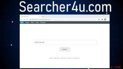 Searcher4u.com virus