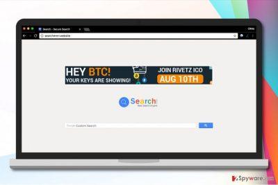 Searchererr.website hijack