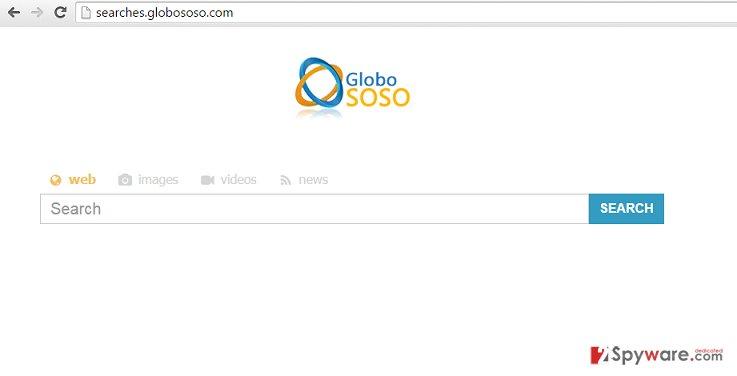 Searches.globososo.com virus