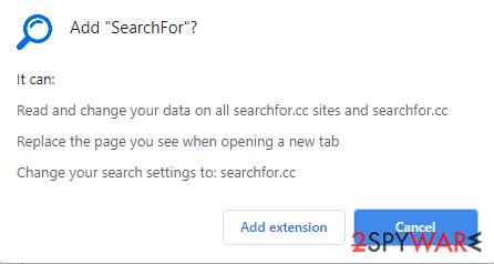 Add SearchFor prompt