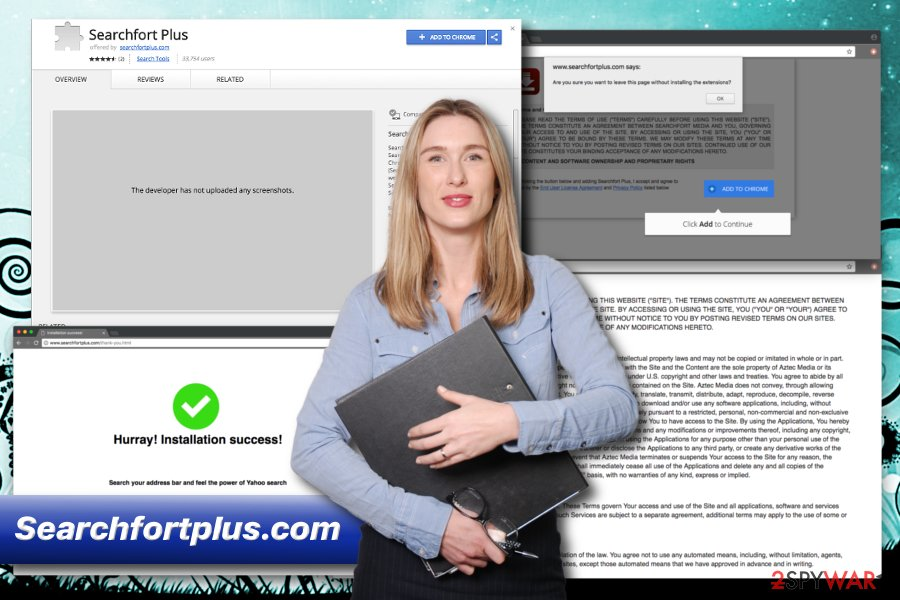 Searchfort Plus browser hijacker