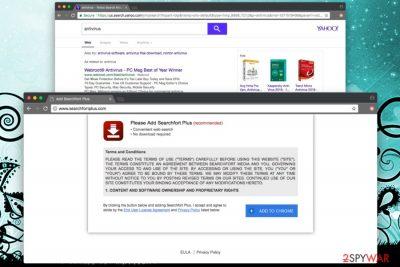 Searchfortplus.com virus