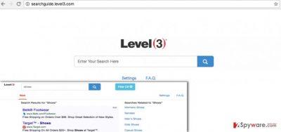 Searchguide Level 3 redirect virus