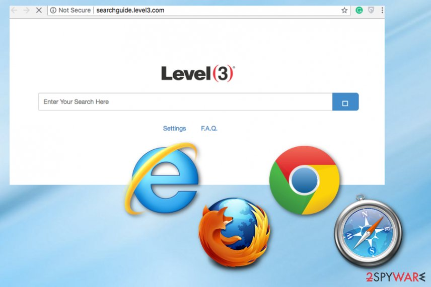 Searchguide.level3.com virus