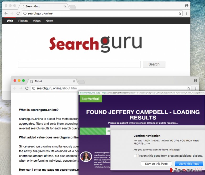 Searchguru.online virus in Chrome