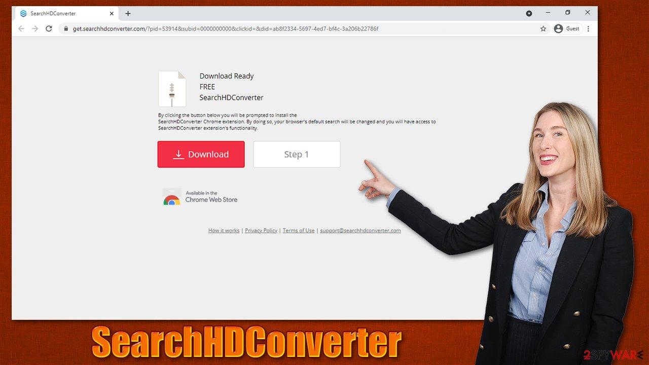 SearchHDConverter virus distribution