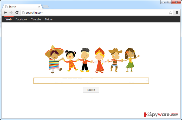 Searchiu.com virus snapshot
