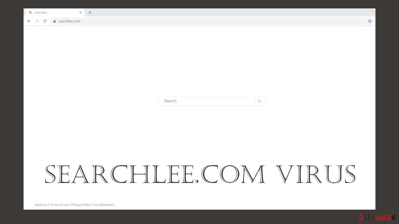 Searchlee.com browser hijacker