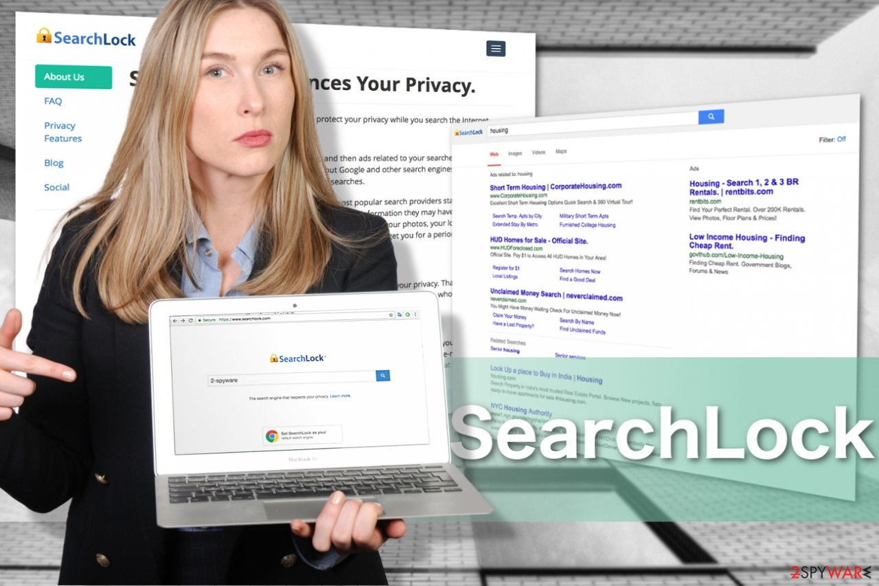 The image of Searchlock virus