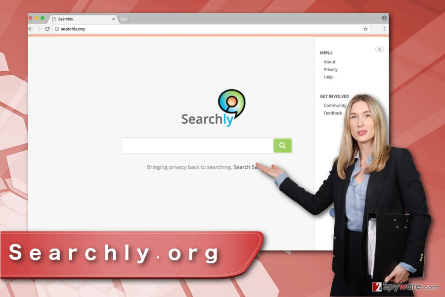 Searchly.org virus