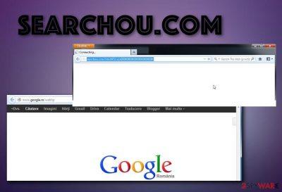 Searchou browser hijacker