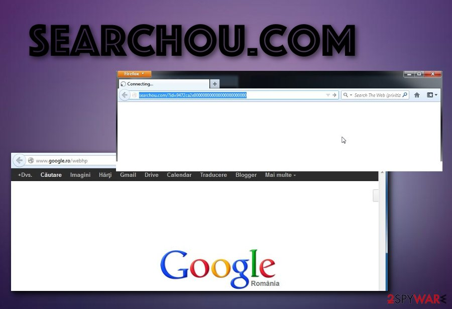 Searchou browser hijacker