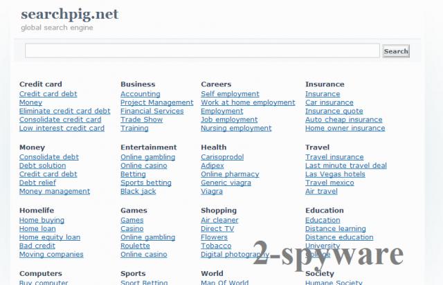 Searchpig.net snapshot