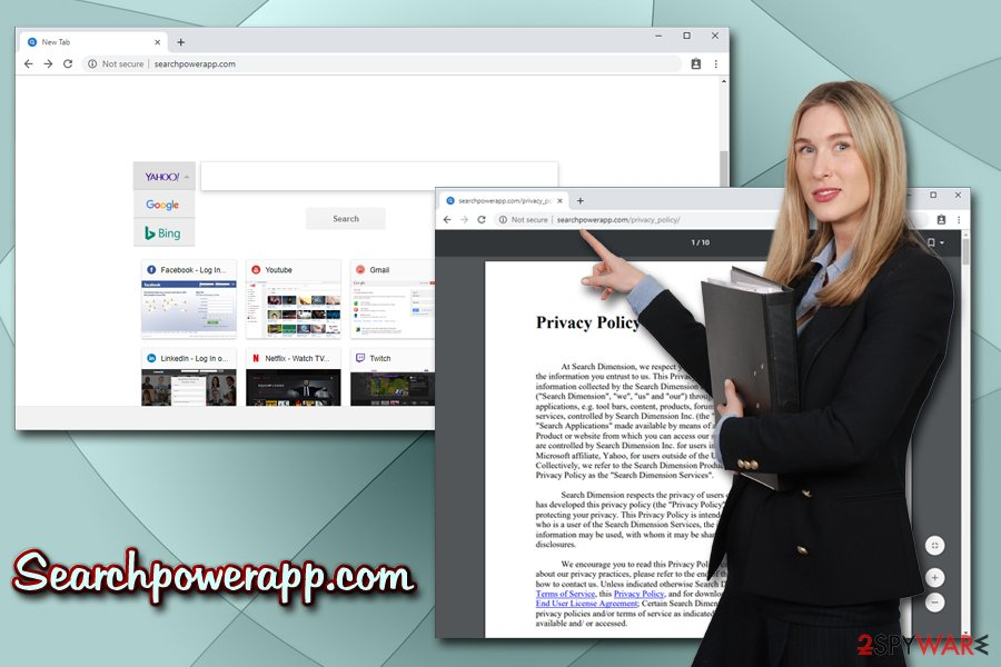 Searchpowerapp.com browser hijacker