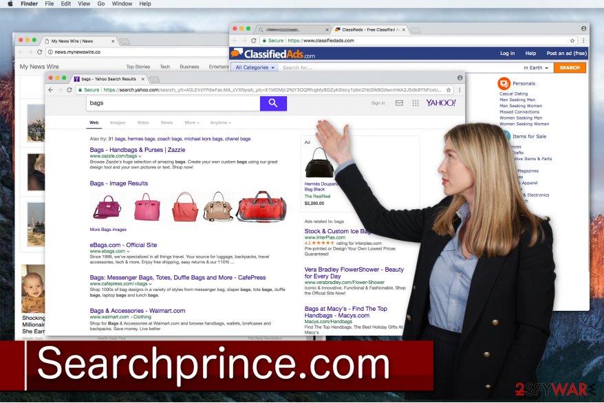 Searchprince.com hijacks your browser