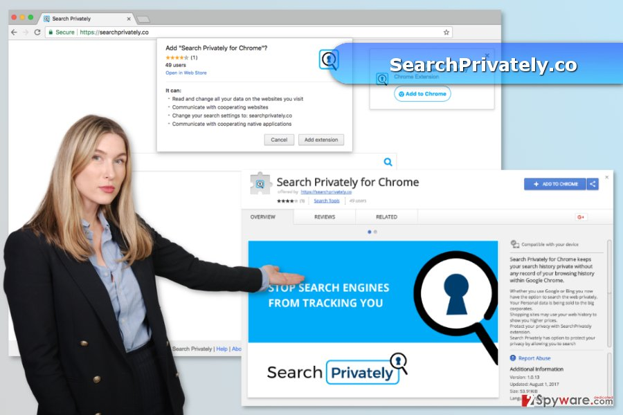 SearchPrivately.co is available on Chrome Play Store