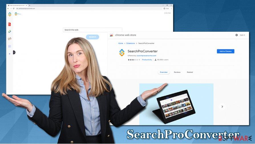 SearchProConverter hijack