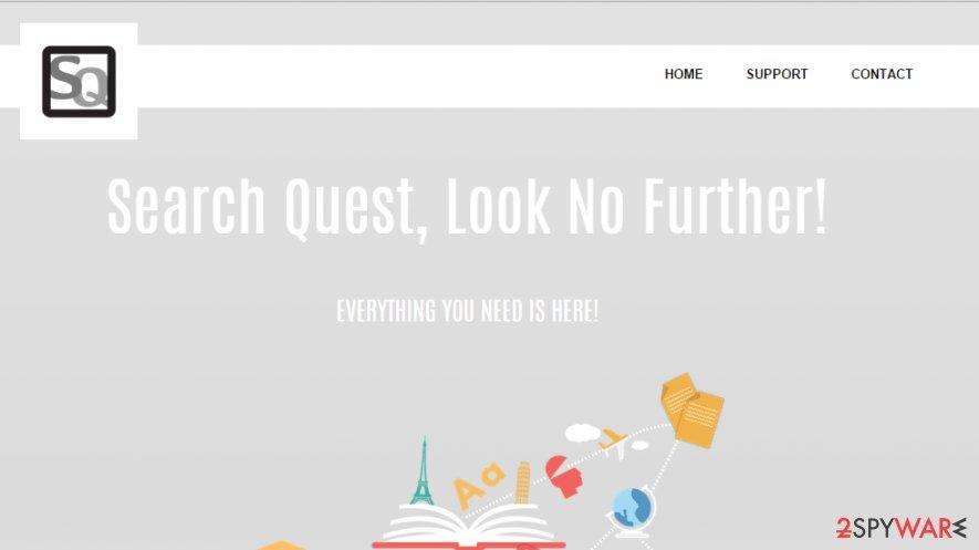SearchQuest ads